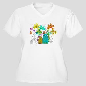 Spring Flowers 14 Plus Size T-Shirt
