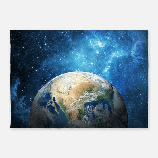 Planet Earth 5'X7'Area 5'X7'Area Rug