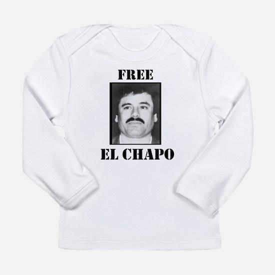 Free El Chapo Long Sleeve T-Shirt