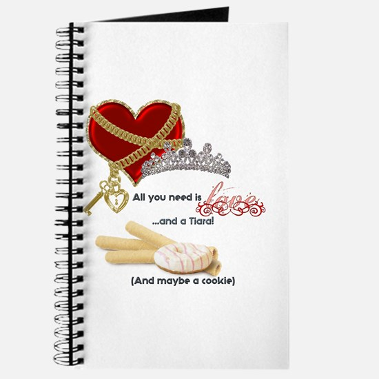 Love Tiaras and Cookies Journal