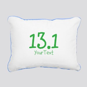 Customize GREEN 13.1 Rectangular Canvas Pillow