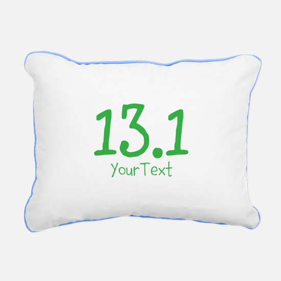 Customize GREEN 13.1 Rectangular Canvas Pillow