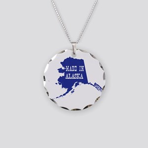 Made In Alaska Necklace Circle Charm
