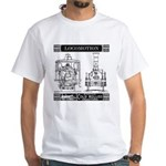 Locomotion White T-Shirt