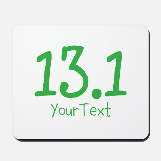 Customize GREEN 13.1 Mousepad
