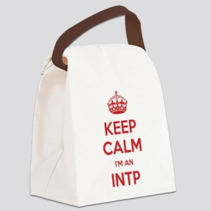 Keep Calm Im An INTP Canvas Lunch Bag