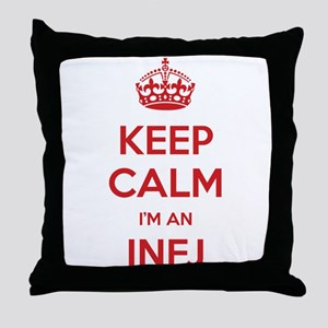 Keep Calm Im An INFJ Throw Pillow