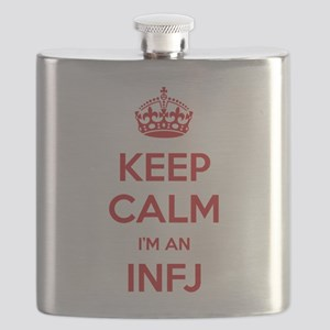 Keep Calm Im An INFJ Flask