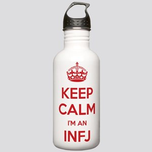 Keep Calm Im An INFJ Water Bottle