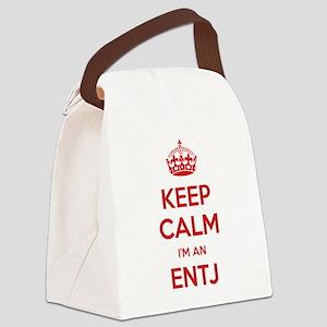 Keep Calm Im An ENTJ Canvas Lunch Bag