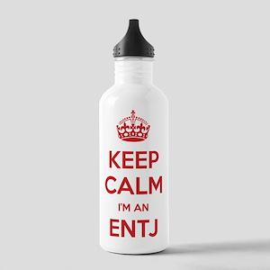 Keep Calm Im An ENTJ Water Bottle