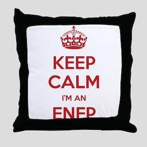 Keep Calm Im An ENFP Throw Pillow
