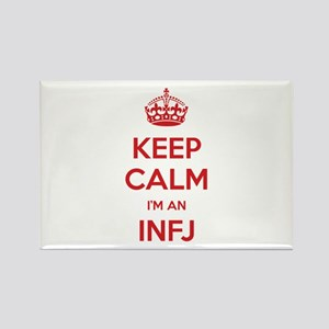 Keep Calm I'm An INFJ Rectangle Magnet