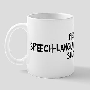 speech-language pathology stu Mug