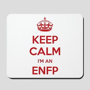 Keep Calm I'm An ENFP Mousepad