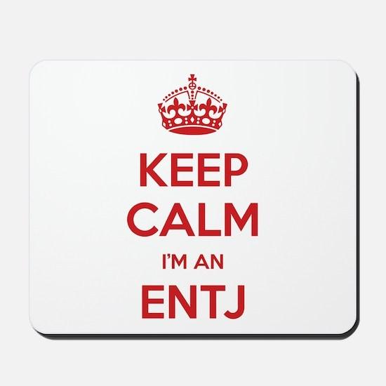 Keep Calm I'm An ENTJ Mousepad