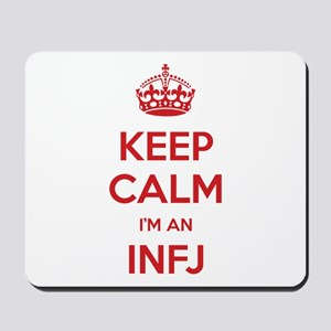 Keep Calm I'm An INFJ Mousepad