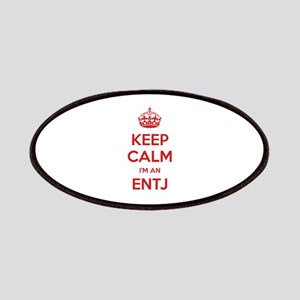 Keep Calm I'm An ENTJ Patch