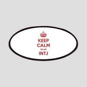 Keep Calm I'm An INTJ Patch