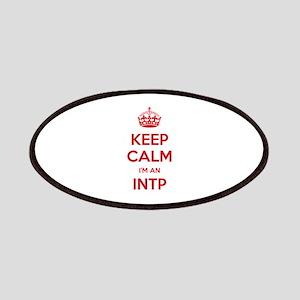 Keep Calm I'm An INTP Patch