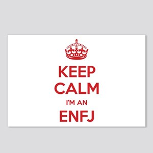 Keep Calm I'm An ENFJ Postcards 8 Pack