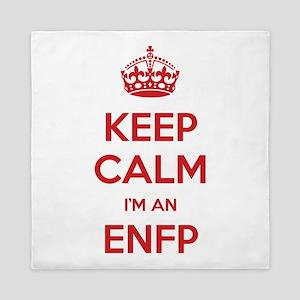 Keep Calm I'm An ENFP Queen Duvet