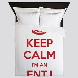 Keep Calm I'm An ENTJ Queen Duvet