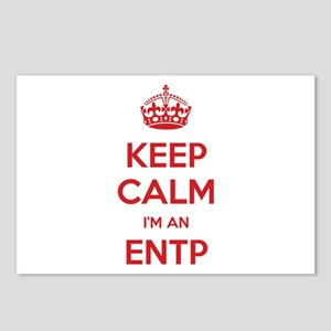 Keep Calm I'm An ENTP Postcards 8 Pack