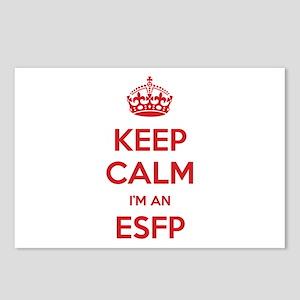 Keep Calm I'm An ESFP Postcards 8 Pack