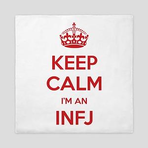 Keep Calm I'm An INFJ Queen Duvet