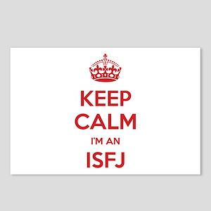 Keep Calm I'm An ISFJ Postcards 8 Pack