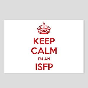 Keep Calm I'm An ISFP Postcards 8 Pack
