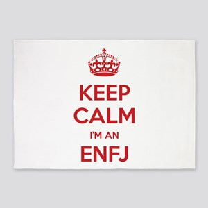 Keep Calm I'm An ENFJ 5'x7' Area Rug
