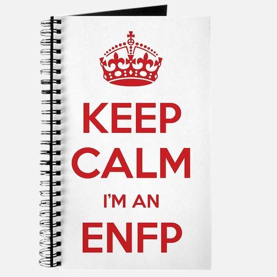 Keep Calm I'm An ENFP Journal