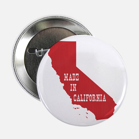 "Made in California 2.25"" Button"