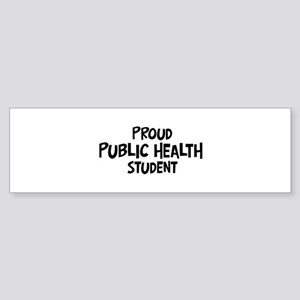 public health student Bumper Sticker