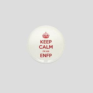 Keep Calm I'm An ENFP Mini Button