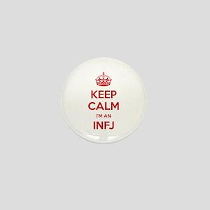 Keep Calm I'm An INFJ Mini Button
