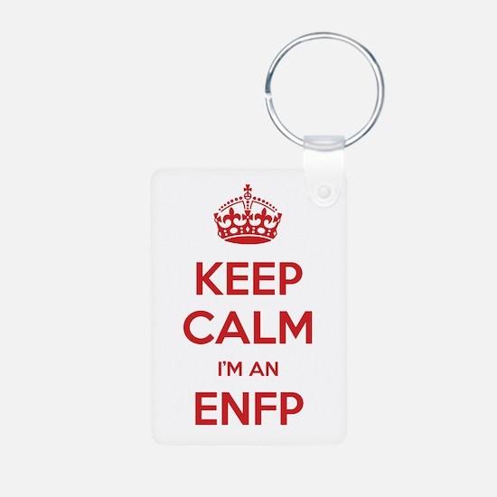 Keep Calm I'm An ENFP Aluminum Keychain
