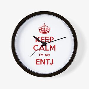 Keep Calm I'm An ENTJ Wall Clock