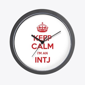 Keep Calm I'm An INTJ Wall Clock