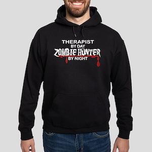 Zombie Hunter - Therapist Hoodie (dark)