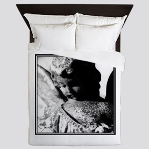 Southern Gothic Stone Angel Queen Duvet