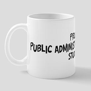 public administration policy  Mug