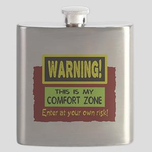 Enter My Comfort Zone Flask