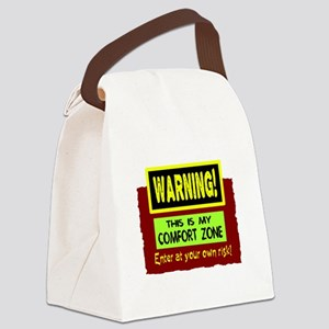 Enter My Comfort Zone Canvas Lunch Bag