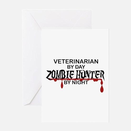 Zombie Hunter - Vet Greeting Card