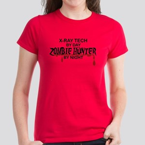 Zombie Hunter - X-Ray Tech Women's Dark T-Shirt