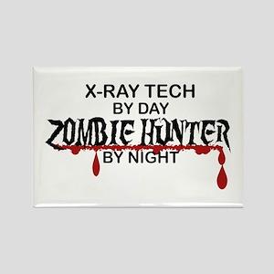 Zombie Hunter - X-Ray Tech Rectangle Magnet