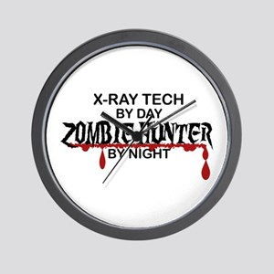 Zombie Hunter - X-Ray Tech Wall Clock